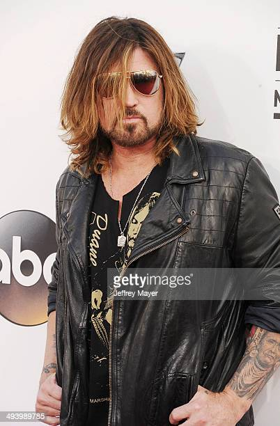 Musician/singer Billy Ray Cyrus arrives at the 2014 Billboard Music Awards at the MGM Grand Garden Arena on May 18 2014 in Las Vegas Nevada