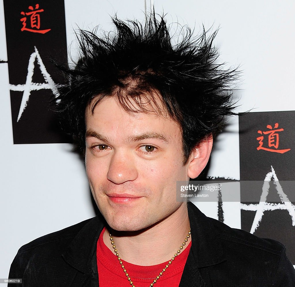 Sum 41's Deryck Whibley Celebrates His Birthday At TAO Nightclub