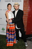 Musician/singer Joel Madden and TV personality/wife Nicole Richie arrive at the 2nd Annual Baby2Baby Gala at The Book Bindery on November 9 2013 in...