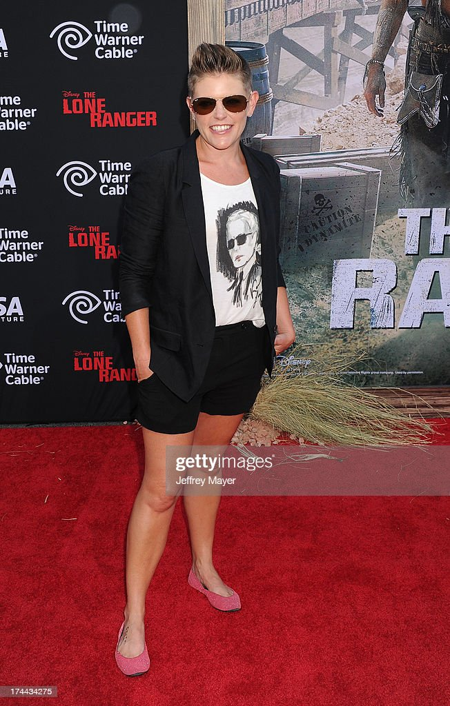 Musician/singer Natalie Maines arrives at 'The Lone Ranger' World Premiere at Disney's California Adventure on June 22, 2013 in Anaheim, California.