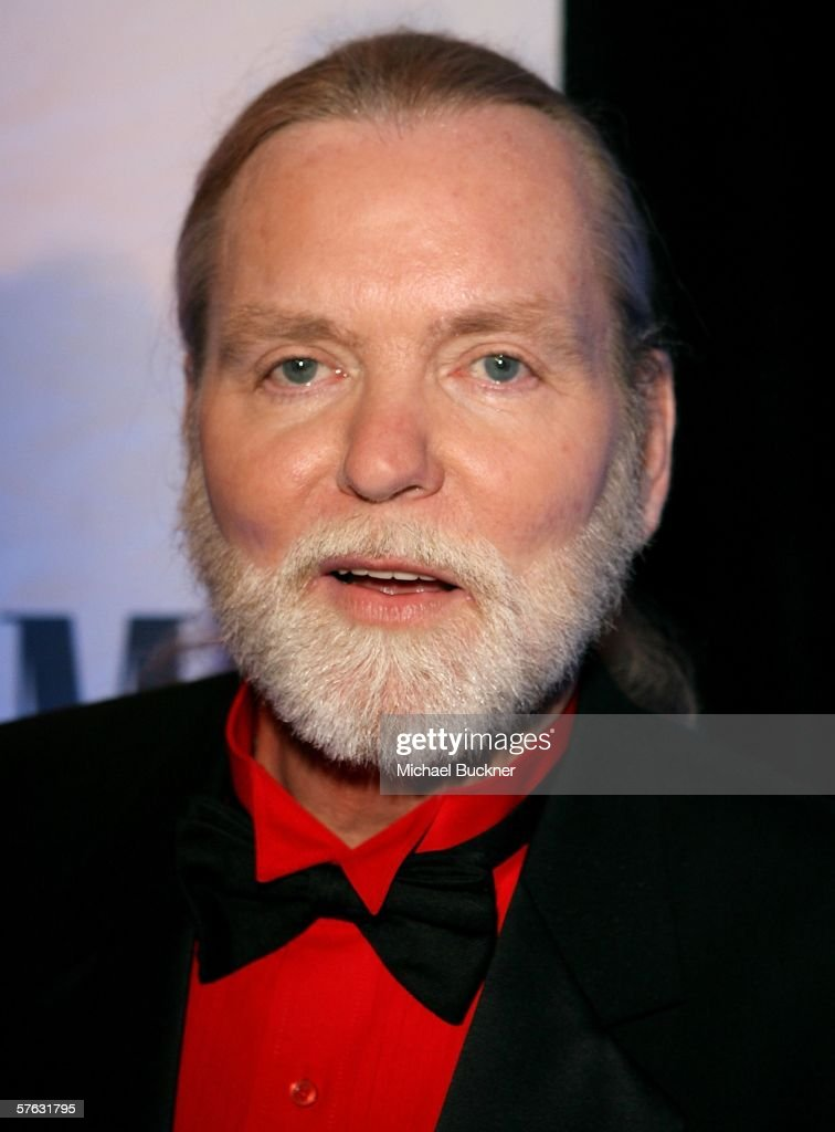 Musician/songwriter Greg Allman arrives at the 54th Annual BMI Pop Awards at the Regent Beverly Wilshire Hotel on May 16, 2006 in Beverly Hills, California.