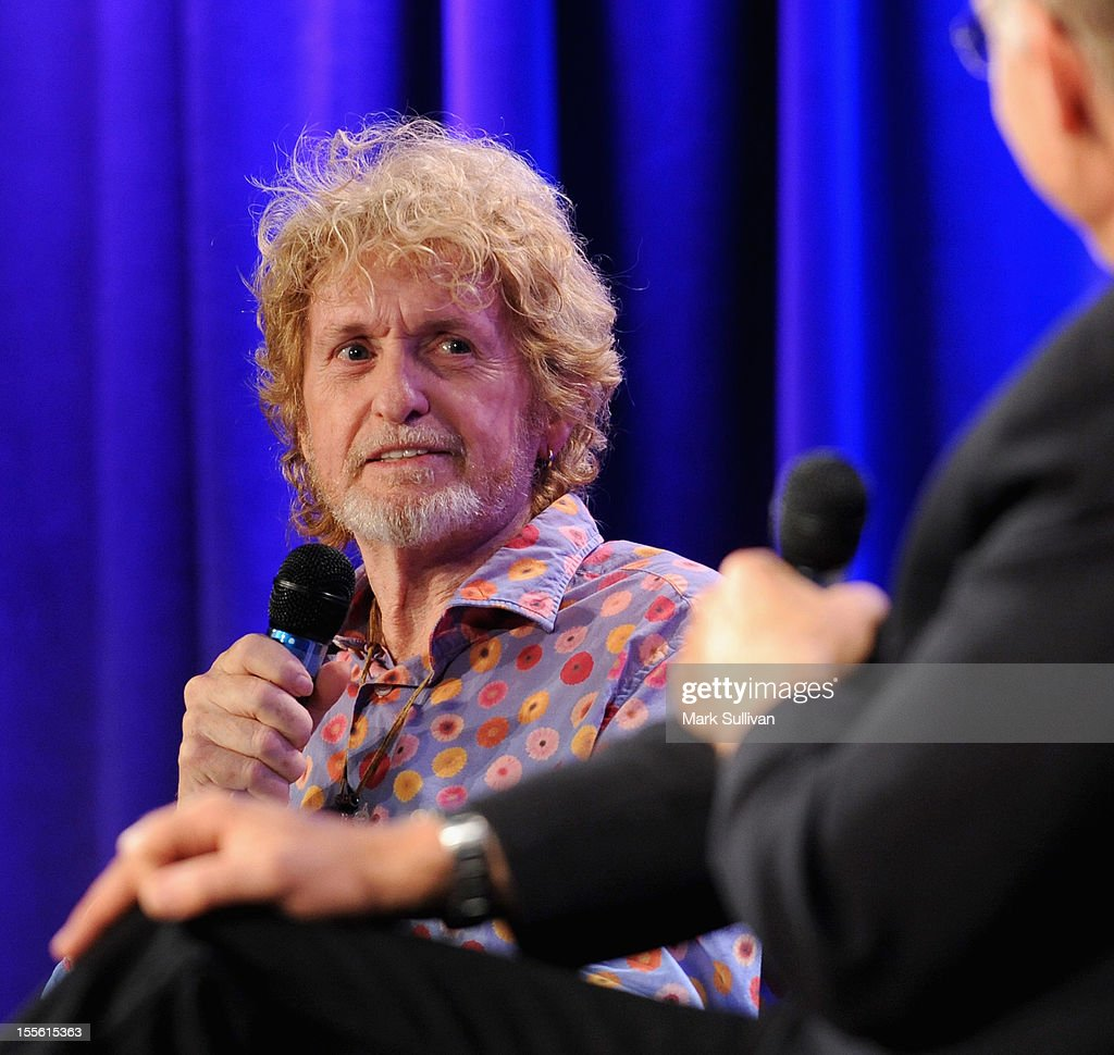 Musician/songwriter Jon Anderson onstage during An Evening With Jon Anderson at The GRAMMY Museum on November 5, 2012 in Los Angeles, California.