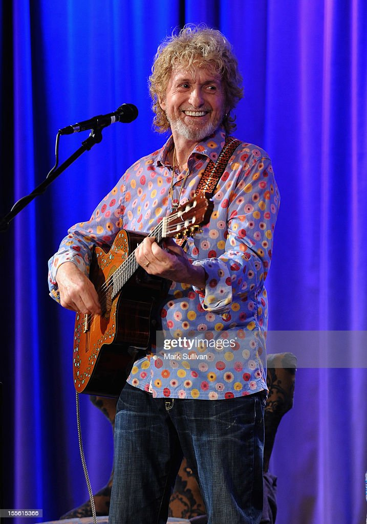 Musician/songwriter Jon Anderson performs during An Evening With Jon Anderson at The GRAMMY Museum on November 5, 2012 in Los Angeles, California.