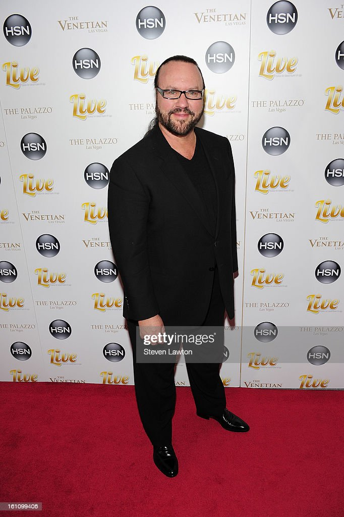 Musician/songwriter/producer <a gi-track='captionPersonalityLinkClicked' href=/galleries/search?phrase=Desmond+Child&family=editorial&specificpeople=745873 ng-click='$event.stopPropagation()'>Desmond Child</a> arrives at the HSN Live Michael Bolton concert at The Venetian Resort Hotel Casino on February 8, 2013 in Las Vegas, Nevada.