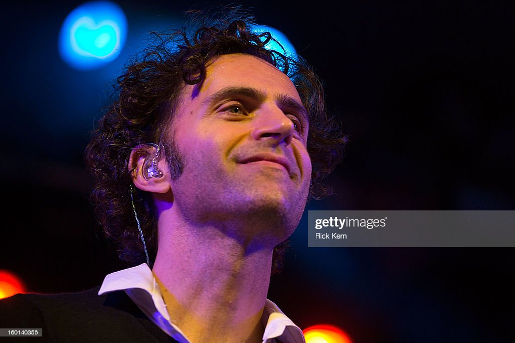 Musician/vocalist <a gi-track='captionPersonalityLinkClicked' href=/galleries/search?phrase=Dweezil+Zappa&family=editorial&specificpeople=1106695 ng-click='$event.stopPropagation()'>Dweezil Zappa</a> performs as part of Zappa Plays Zappa in concert at Stubb's Bar-B-Q on January 26, 2013 in Austin, Texas.