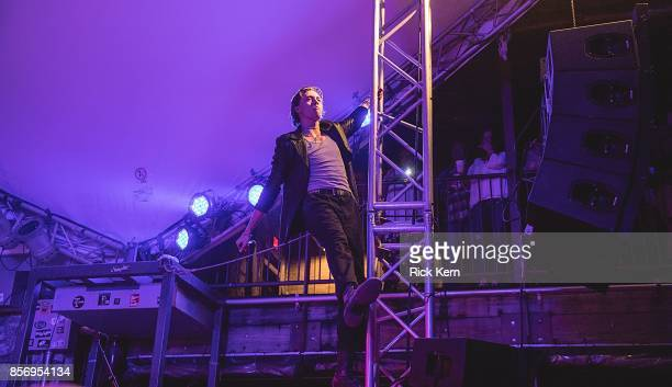 Musician/vocalist Fletcher Shears of The Garden performs in concert at Stubb's BarBQ on October 2 2017 in Austin Texas