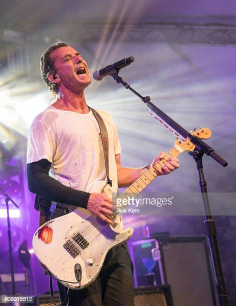 Musician/vocalist Gavin Rossdale of Bush performs in concert at Stubb's BarBQ on July 2 2017 in Austin Texas