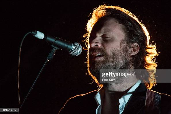 Musician/vocalist Joshua Tillman aka Father John Misty performs in concert at Emo's on October 29 2013 in Austin Texas