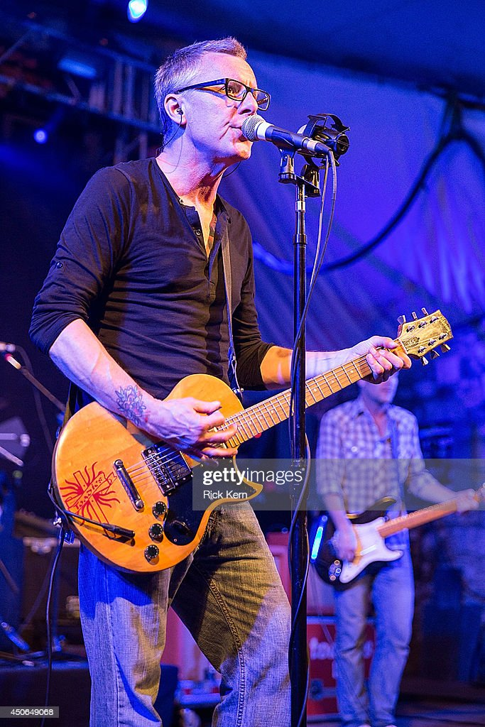 Musician/vocalist Vaden Todd Lewis of the Toadies performs in concert during the Rubberneck 20th Anniversary Tour at Stubb's Bar-B-Q on June 14, 2014 in Austin, Texas.