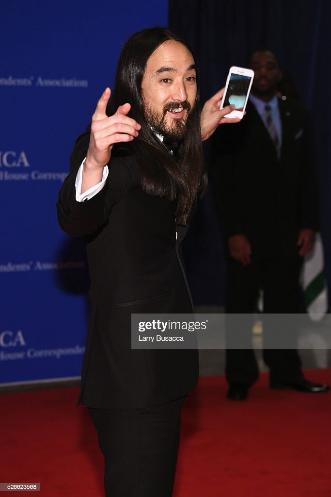 Musicican Steve Aoki attends the 102nd White House Correspondents' Association Dinner on April 30, 2016 in Washington, DC.