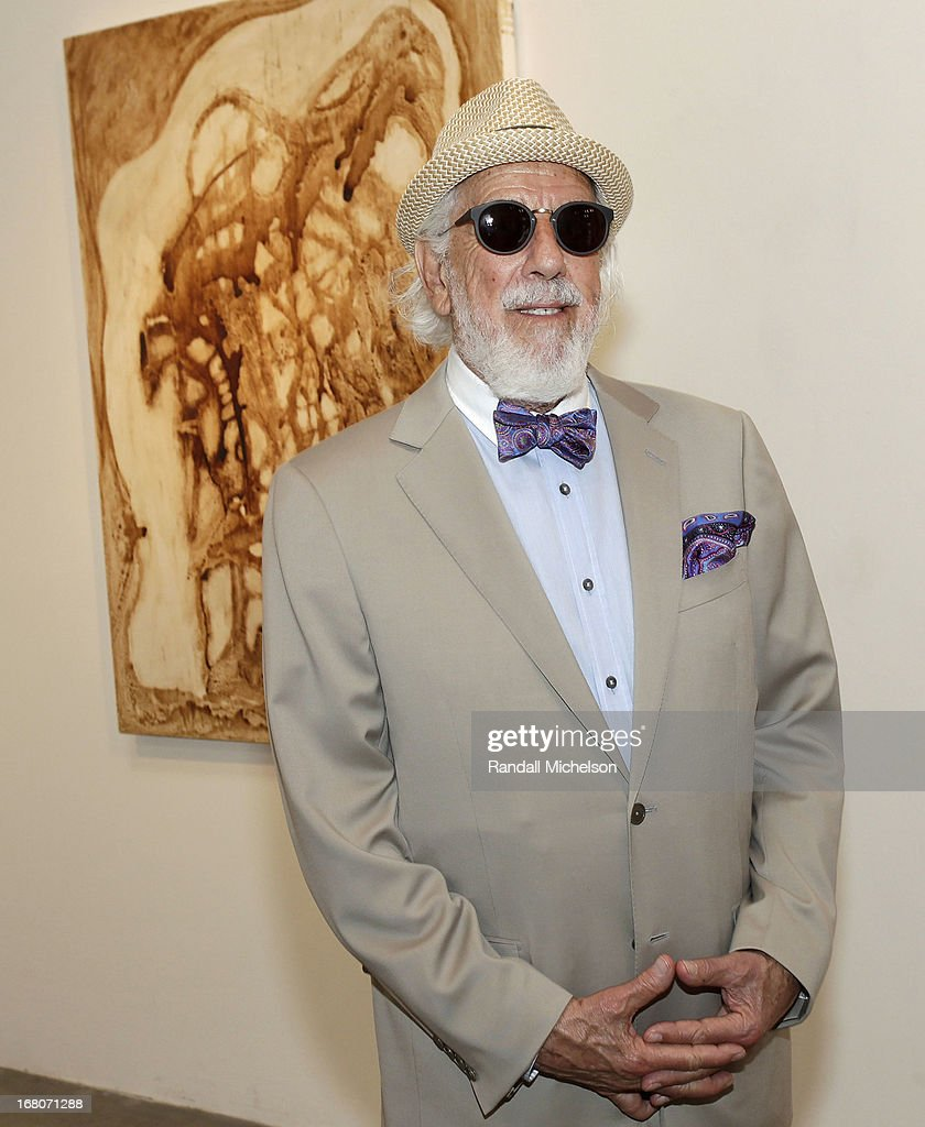 Music-Producer <a gi-track='captionPersonalityLinkClicked' href=/galleries/search?phrase=Lou+Adler+-+Musikproduzent&family=editorial&specificpeople=228945 ng-click='$event.stopPropagation()'>Lou Adler</a> attends the Herb Alpert Exhibition of Paintings and Sculpture at Bergamot Station on May 4, 2013 in Santa Monica, California.