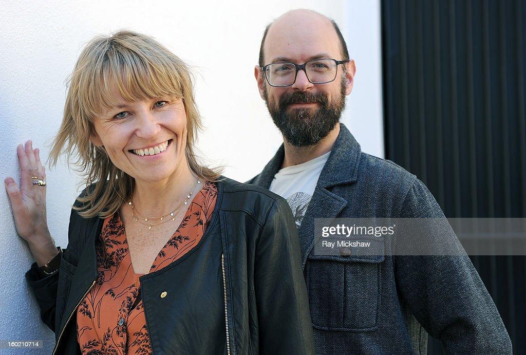 'Musicwood' director Maxine Trump and producer/editor Josh Granger attend the 28th Santa Barbara International Film Festival on January 27, 2013 in Santa Barbara, California.