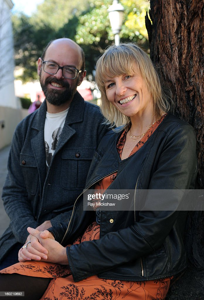 'Musicwood' producer Josh Granger and director Maxine Trump attend the 28th Santa Barbara International Film Festival on January 27, 2013 in Santa Barbara, California.