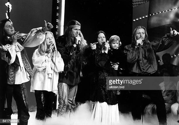 Musikgruppe Irlandvl Paddy Angelo John Kathy Joey 1995