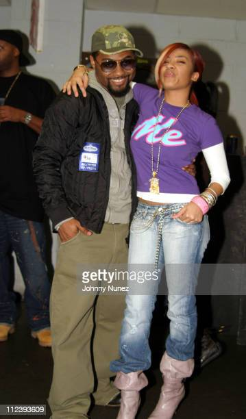 Musiq and Keyshia Cole during Bilal in Concert with Guests Musiq Keyshia Cole and Jaguar Wright December 11 2004 at BBKings in New York City New York...