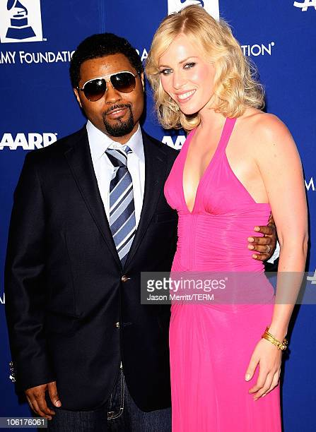 Musiq Showchild and Natasha Bedingfield arrive to the Grammy Foundations 10th Annual Music Preservation Project in Los Angeles California on February...