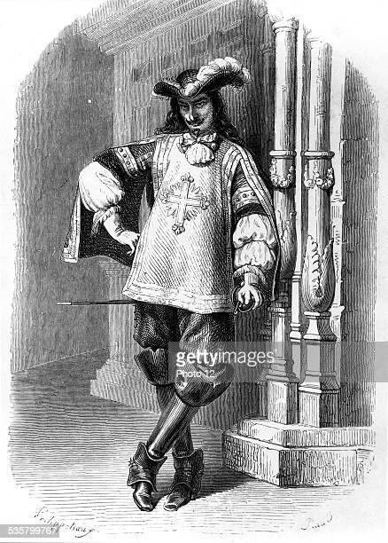 A musketeer Illustration for Alexandre Dumas' novels