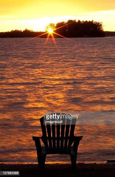 Muskoka Chair at the Lake