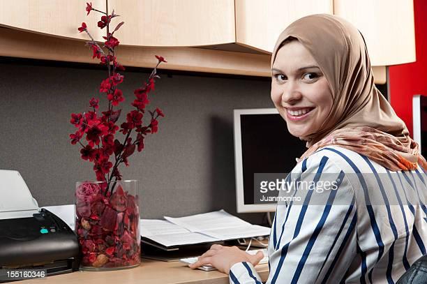 Muslim businesswoman