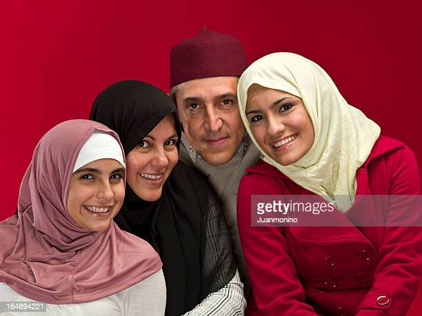 Muslim Family Portrait
