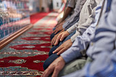Muslim Friday mass prayer in Turkey