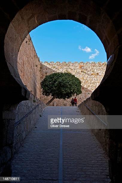 Muslim gateway enterance to Trujillo castle.