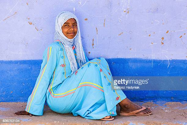 Muslim girl in Southern Egypt