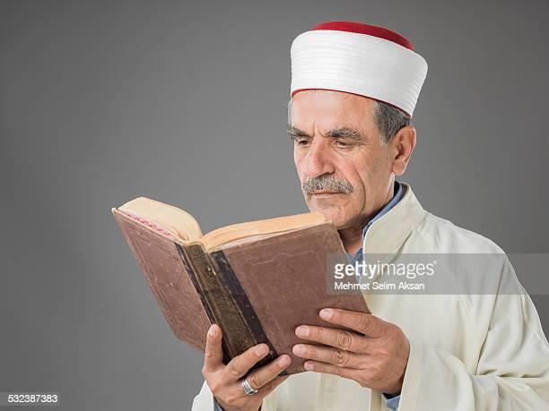 Muslim imam portrait