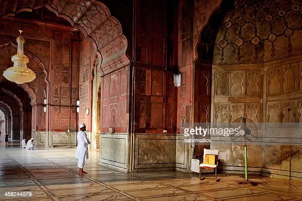 Muslim men offering Prayer