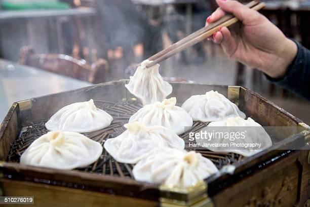 Muslim street food in Xi'an - Guan Tang bao-zi
