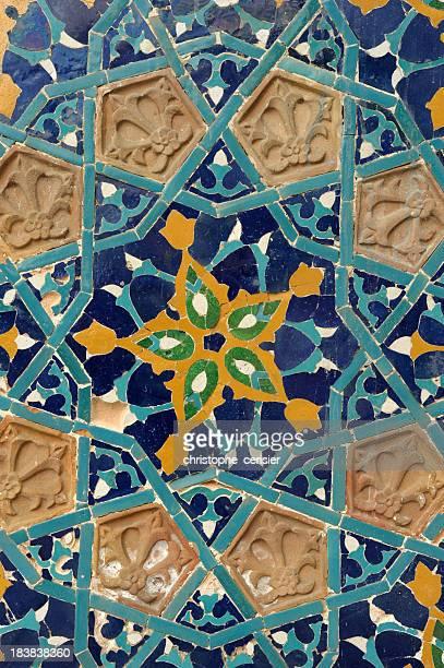 Musulmanes baldosas, Asia Central