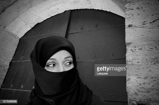 Muslim Woman at Mosque