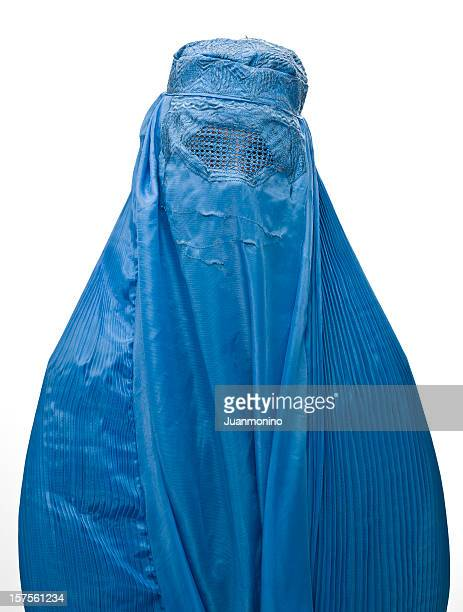 Muslim woman wearing a burka