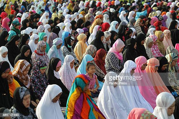 Muslims conduct their morning prayers during the celebration of Eid alAdha Muslims all over the world celebrate Eid alAdha to commemorate the...