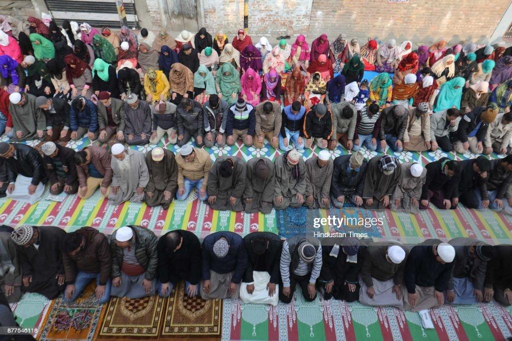 Muslims Devotees Offer Prayers At Shrine Of Sufi Saint Naqashband Sahib On His Birthday
