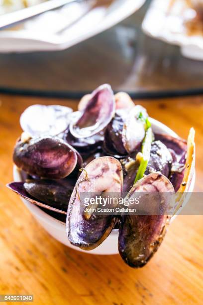 Mussels on Hainan Island