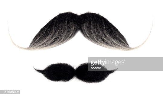 Mustaches にホワイト