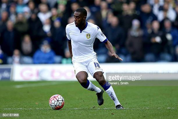 Mustafa Carayol of Leeds United FC during The Emirates FA Cup Third Round match between Leeds United and Rotherham United at Elland Road on January 9...