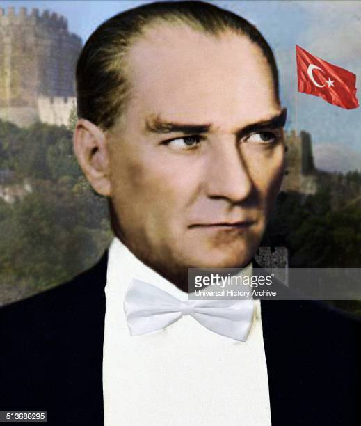 Mustafa Kemal Atatürk first President of Turkey He is credited with being the founder of the Republic of Turkey