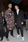 Valentino : Front Row - Paris Fashion Week - Menswear...
