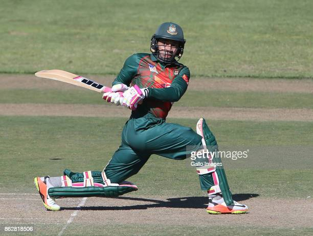 Mustafizur Rahman of Bangladesh during the 2nd Momentum ODI match between South Africa and Bangladesh at Boland Park on October 18 2017 in Paarl...