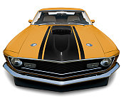 Mustang Fastback 1970 Muscle Car - XXXLarge