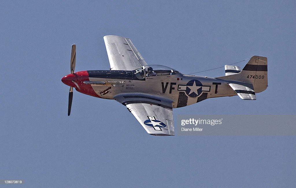 P-51 Mustang : Stock Photo