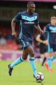 Mustapha Carayol of Middlesbrough breaks with the ball during the pre season friendly match between York City and Middlesbrough at Bootham Crescent...