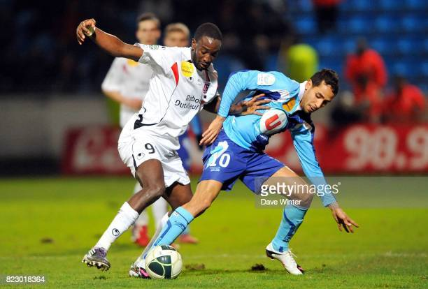 Mustapha YATABARE / Walid MESLOUB Le Havre / Boulogne 27eme journee de Ligue 2