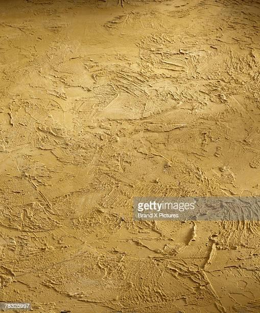 Mustard stucco texture