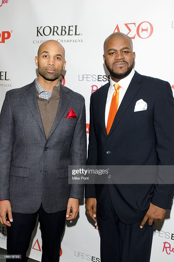 MutaÕAli and NJ Frank attend the 'Life's Essentials With Ruby Dee' screening at The Schomburg Center for Research in Black Culture on November 14, 2012 in New York City.