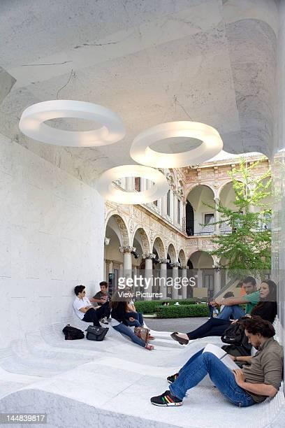 Mutant Architecture Milan 2011 Cortili DellUniversità Degli Studi Di Milano MilanItaly Architect Various Architects Zero By Snohetta A Marble Cube...