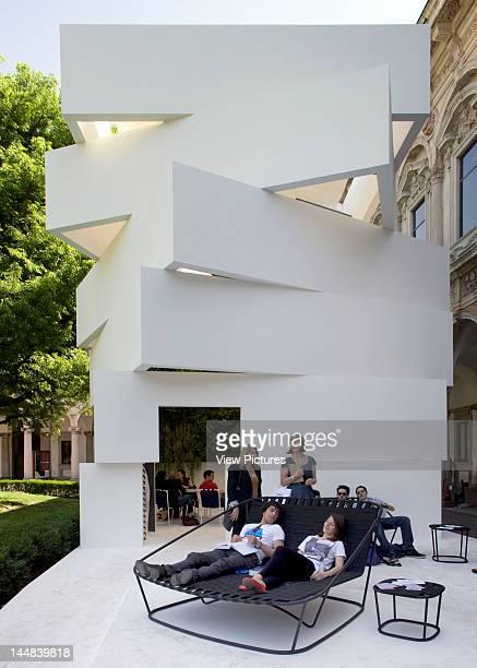 Mutant Architecture Milan 2011 Cortili DellUniversità Degli Studi Di Milano MilanItaly Architect Various Architects Green Tower By Carlo Columbo At...