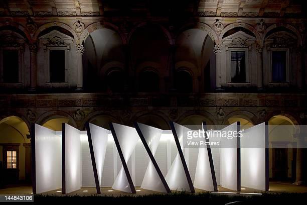 Mutant Architecture Milan 2011 Cortili DellUniversità Degli Studi Di Milano MilanItaly Architect Various Architects Mutated Panles By Richard Meier...